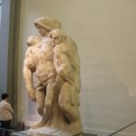 38 Grabstatue Michel Angelos Galleria dell'Accademia Florenz