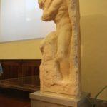 39 Unvollendete Skulptur Galleria dell'Accademia Florenz