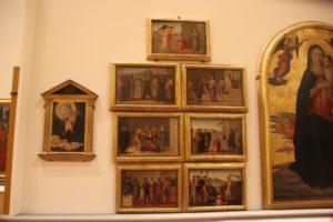 5 Malerei Galleria dell'Accademia Florenz