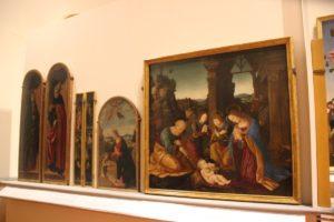 6 Malerei Galleria dell'Accademia Florenz