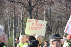 Aufstehen Demo 16-Februar-2019 Berlin Demonstrationszug 11