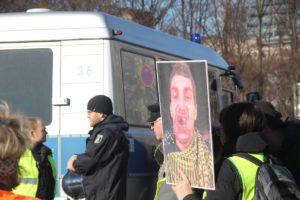 Aufstehen Demo 16-Februar-2019 Berlin Demonstrationszug 14