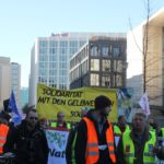 Aufstehen Demo 16-Februar-2019 Berlin Demonstrationszug 2