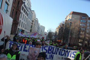 Aufstehen Demo 16-Februar-2019 Berlin Demonstrationszug 3