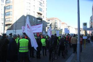 Aufstehen Demo 16-Februar-2019 Berlin Demonstrationszug 4