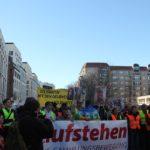 Aufstehen Demo 16-Februar-2019 Berlin Demonstrationszug 6