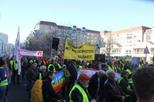 Aufstehen Demo 16-Februar-2019 Berlin Demonstrationszug 7