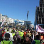 Aufstehen Demo 16-Februar-2019 Berlin Potsdamer Platz 1