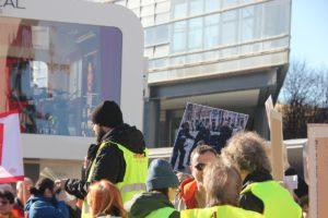 Aufstehen Demo 16-Februar-2019 Berlin Potsdamer Platz 11