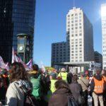Aufstehen Demo 16-Februar-2019 Berlin Potsdamer Platz 2