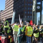 Aufstehen Demo 16-Februar-2019 Berlin Potsdamer Platz 5