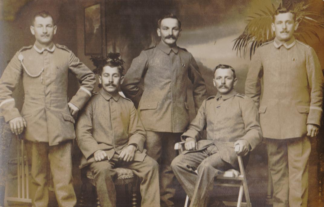 Soldaten WK 1 Uniformen