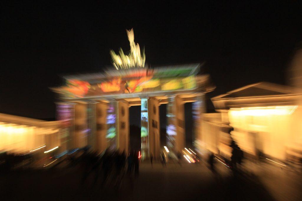 Brandenburger Tor Wackeleffekt