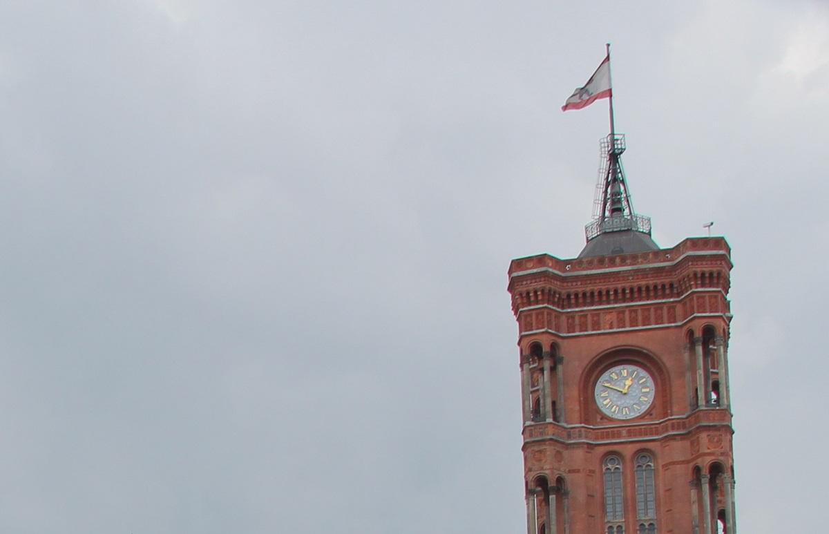 Rotes Rathaus Berlin Turm