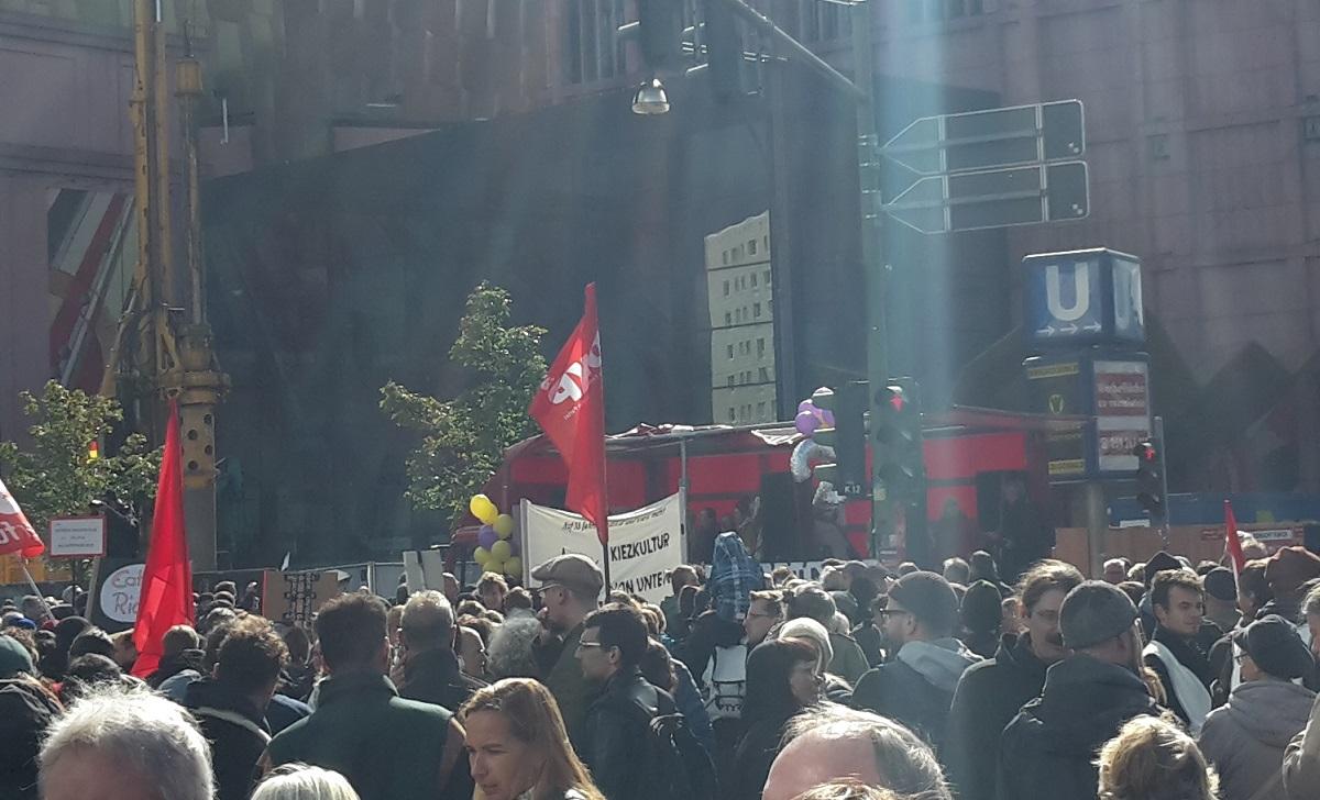 Mieten-Demo Berlin