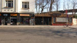Corona Laden geschlossen